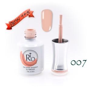לק ג'ל ריו - Rio Gel polish number - 007