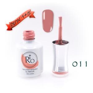 לק ג'ל ריו - Rio Gel polish number - 011