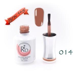 לק ג'ל ריו - Rio Gel polish number - 014