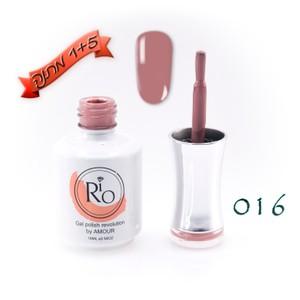 לק ג'ל ריו - Rio Gel polish number - 016
