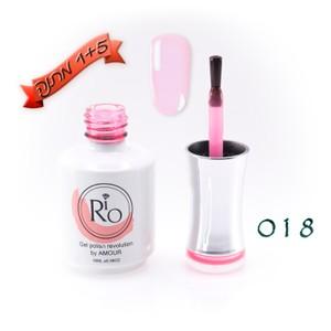 לק ג'ל ריו - Rio Gel polish number - 018