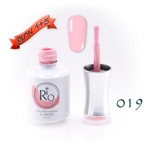 לק ג'ל ריו - Rio Gel polish number - 019