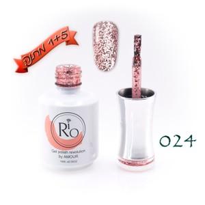 לק ג'ל ריו - Rio Gel polish number - 024
