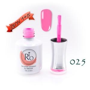 לק ג'ל ריו - Rio Gel polish number - 025
