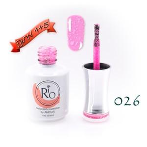 לק ג'ל ריו - Rio Gel polish number - 026