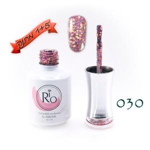 לק ג'ל ריו - Rio Gel polish number - 030