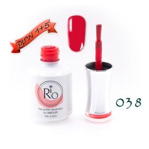 לק ג'ל ריו - Rio Gel polish number - 038