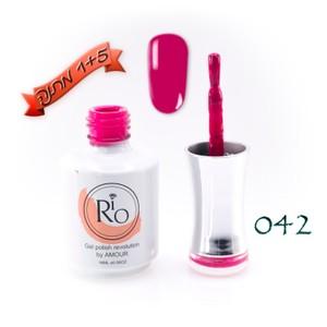 לק ג'ל ריו - Rio Gel polish number - 042