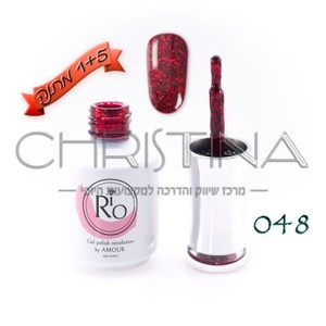 לק ג'ל ריו - Rio Gel polish number - 048