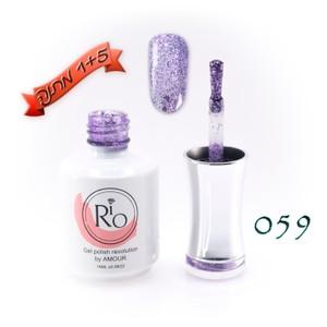 לק ג'ל ריו - Rio Gel polish number - 059