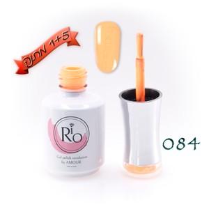 לק ג'ל ריו - Rio Gel polish number - 084