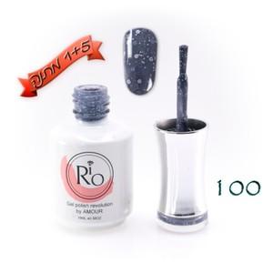לק ג'ל ריו - Rio Gel polish number - 100
