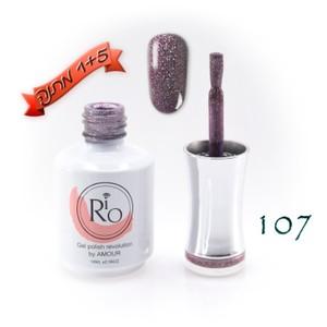 לק ג'ל ריו - Rio Gel polish number - 107