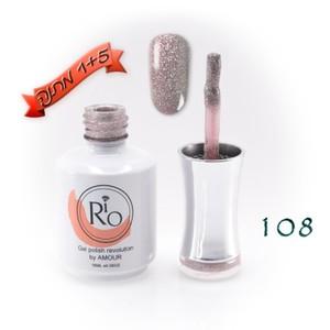 לק ג'ל ריו - Rio Gel polish number - 108