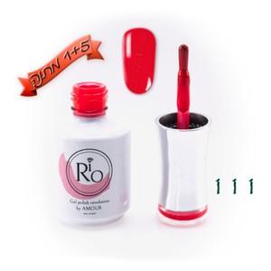 לק ג'ל ריו - Rio Gel polish number - 111