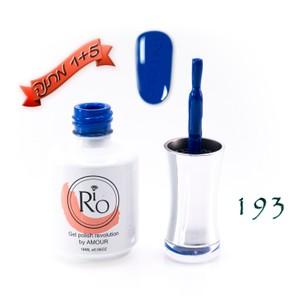 לק ג'ל ריו - Rio Gel polish number - 193