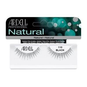 רצועות להדבקת ריסים - Ardell Natural 110 black