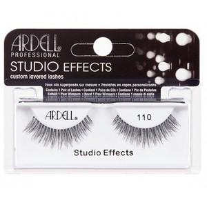 """רצועות להדבקת ריסים - Ardell """"Studio Effects"""" 110 Black"""