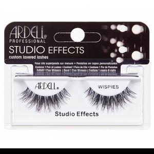 """רצועות להדבקת ריסים - Ardell """"Studio Effects"""" WISPIES Black"""