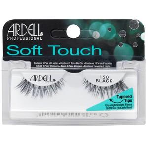 רצועות להדבקת ריסים - Ardell Soft Touch 150 black