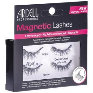 """רצועות ריסים מגנטיים - Ardell MAGNETIC LASHES """"Double DEMI WISPIES"""" black"""