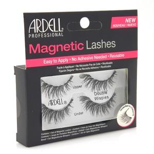 """רצועות ריסים מגנטיים - Ardell MAGNETIC LASHES """"Double WISPIES"""" black"""