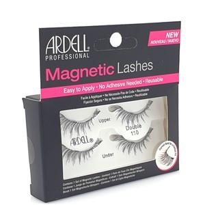 """רצועות ריסים מגנטיים - Ardell MAGNETIC LASHES """"Double LASH 110"""" black"""