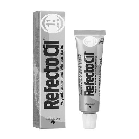 """צבע אפור סילבר לצביעת ריסים וגבות – RFEFCTOCIL """"Graphite"""" - No.1.1"""