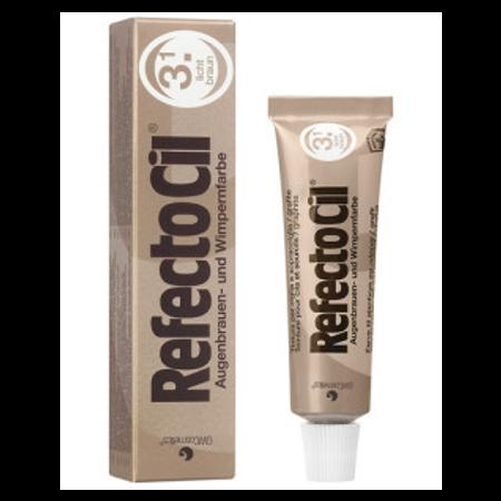 """צבע חום בהיר לצביעת ריסים וגבות – RFEFCTOCIL """"Light Brown"""" - No.3.1"""