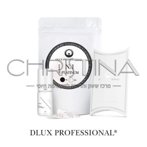 דבק מקצועי להלחמת ריסים - סדרת פלטינום - Dlux Pro Platinum No.1 Adhesive
