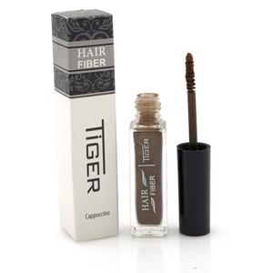 סיבי שיער למילוי הדלילות וכיסוי שיערות לבנות - Tiger Hair Fiber - Cappuccino