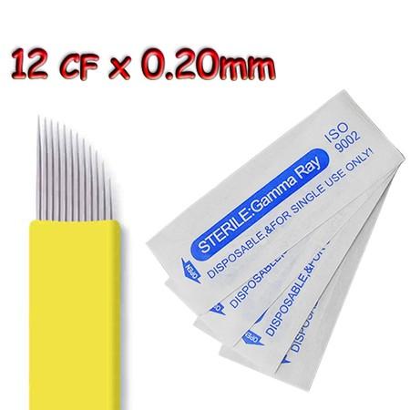 מחט למיקרובליידינג - Microblading Needle - 12CF
