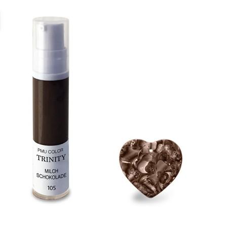 צבע לגבות - 105 מילק שוקולד - PMU Color Trinity