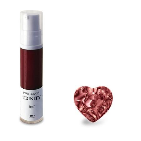 צבע לשפתיים - 302 רוט (אדום) - PMU Color Trinity