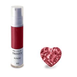 צבע לשפתיים - 303 אלט רוז (אדום עדין) - PMU Color Trinity