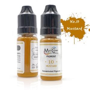 צבע לאיפור קבוע - לתיקונים - חרדל - Magic Cosmetic PMU