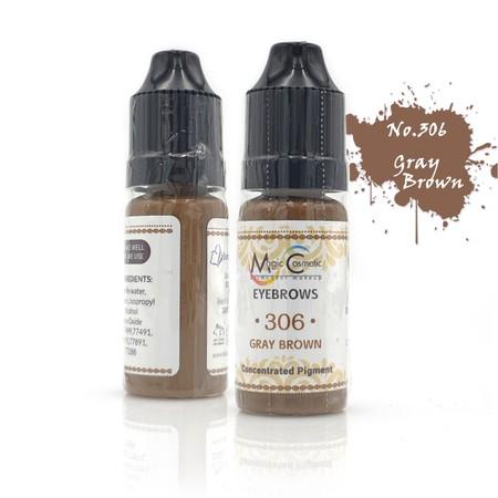צבע לאיפור קבוע - לגבות - חום אפרפר - Magic Cosmetic PMU