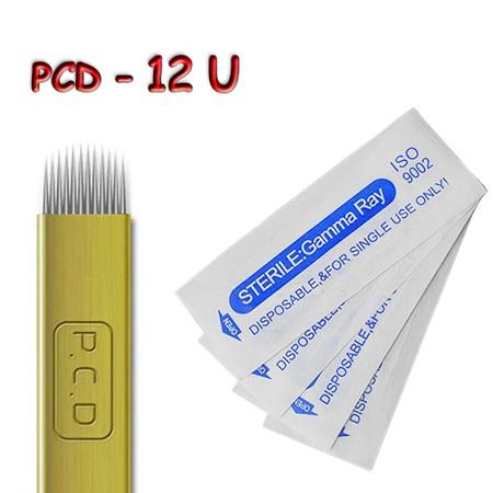 מחט למיקרובליידינג - Microblading Needle - PCD 12U