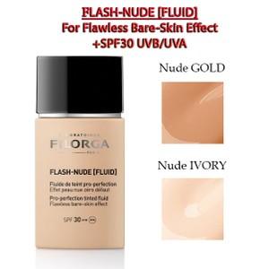 מייק-אפ נוזלי למראה טבעי - FLASH-NUDE [Fluid]