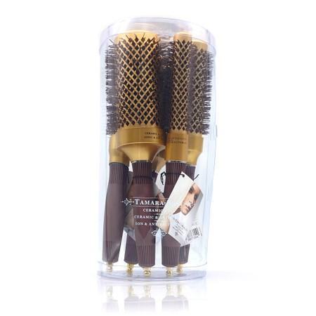 סט 5 מברשות לשיער - צבע זהב - TAMARA ROSE CHROMATIX