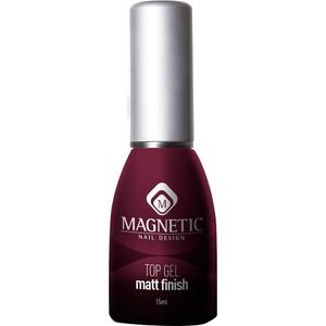 טופ ג'ל גימור מט - Magnetic Top Gel Matt Finish