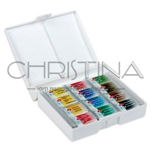 צבעי אקרוול לציורים וקישוטים - 12 גוונים - White Nights