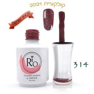 לק ג'ל ריו - Rio Gel polish number - 314