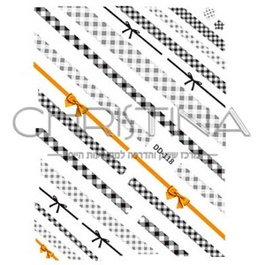 מדבקות קישוט לציפורניים DD-118