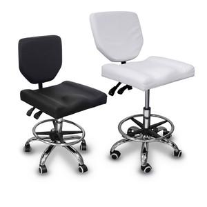 כיסא מטפל\ת רחב (שחור \ לבן)