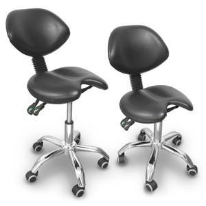 כיסא אוכף שחור למטפל\ת