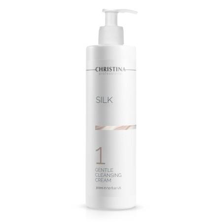 למכון - קרם ניקוי עדין - שלב 1<br>Silk Gentle Cleansing Cream - Step 1