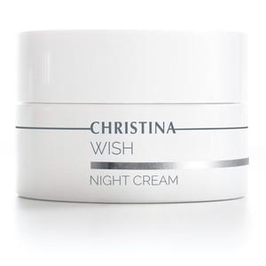 קרם לילה מתקן ומשקם לעור בוגר - Wish Night Cream