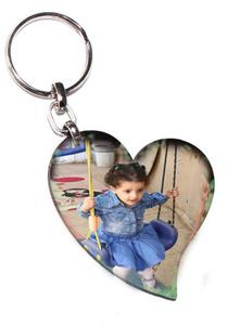"""מחזיק מפתחות לב דו""""צ"""