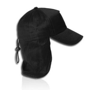 כובע 5 פאנל עם הגנה לעורף 100% כותנה